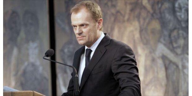 Tusk kandidiert nicht als Präsident