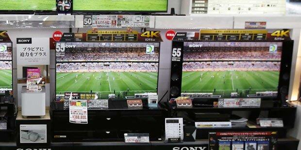 Große Smart-TVs immer beliebter