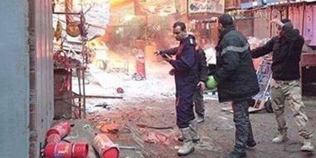 Anschlag auf Markt in Bagdad: Mindestens 27 Tote
