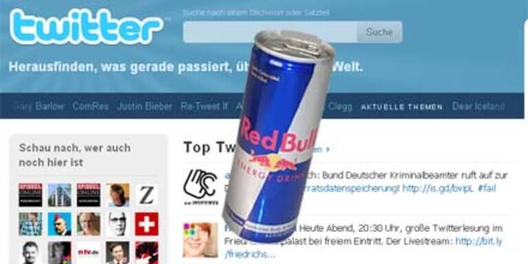Auch Red Bull setzt nun voll auf Twitter