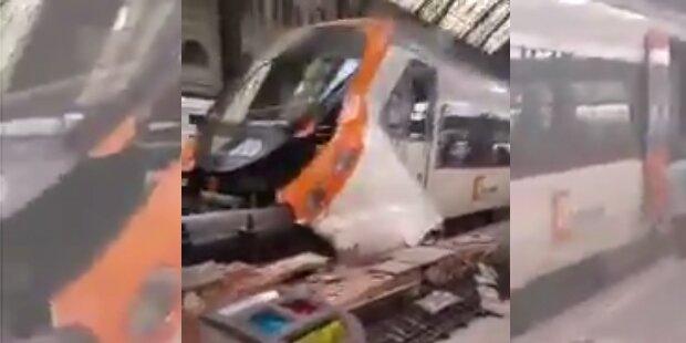 S-Bahn-Unfall im Zentrum Barcelonas: 48 Verletzte