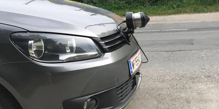 Achtung: Polizei setzt auf neue Radarfalle