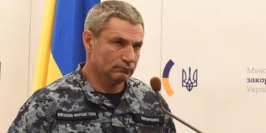 Ukraine-Admiral bietet sich Putin zum Tausch an