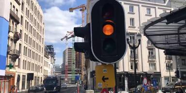 Brüssel schaltet Ampeln aus - und gibt Radlern überall Vorrang