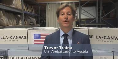 USA schicken 500.000 Atemschutzmasken nach Österreich