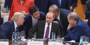 G-20: Peinliche Photoshop-Panne macht Putin zum Gespött