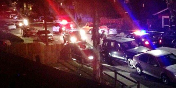 Schüsse aus Auto: 7 Tote in Kalifornien