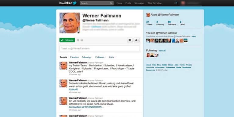 """Faymann twittert"" erregt die Politik"