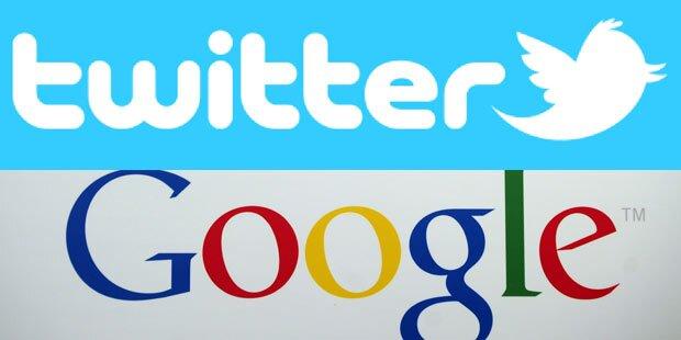 Twitter-Nachrichten in Google-Suche