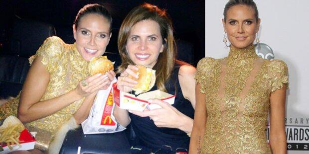 AMAs: Für Heidi gab's einen fetten Burger