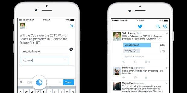 Twitter führt neues Umfrage-Tool ein