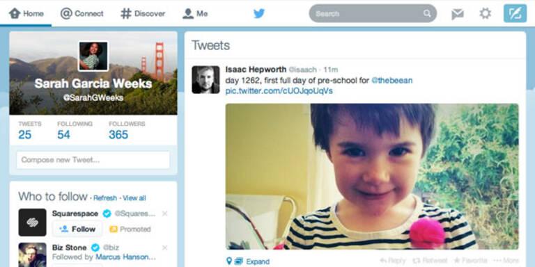 Twitter verpasst sich einen neuen Look