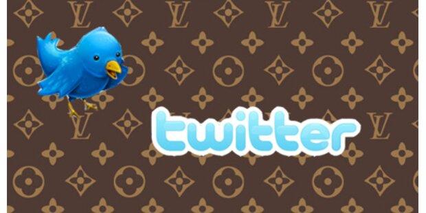 Louis Vuitton probiert Twitter aus