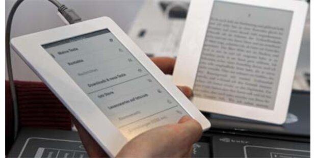 Neuer E-Book-Reader