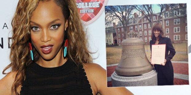 Tyra Banks: Gefälschtes Harvard-Diplom?