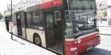 Bus in Klagenfurt