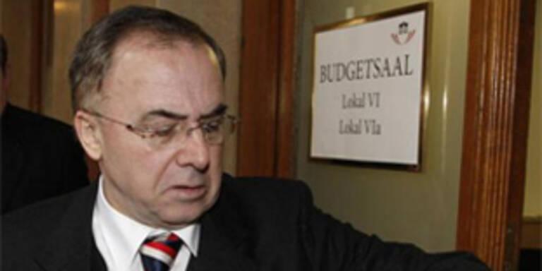 Peter Fichtenbauer, Vorsitzender des U-Ausschusses zur Causa Innenministerium