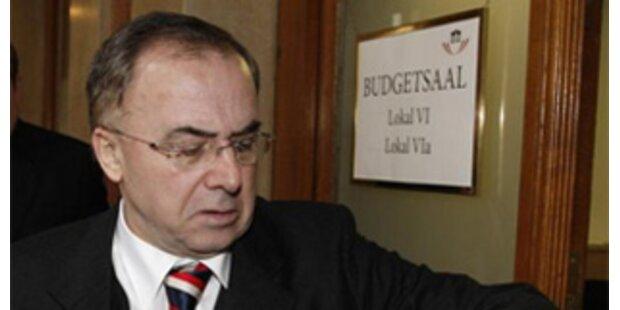 U-Ausschuss-Vorsitzender Fichtenbauer kritisiert Molterer