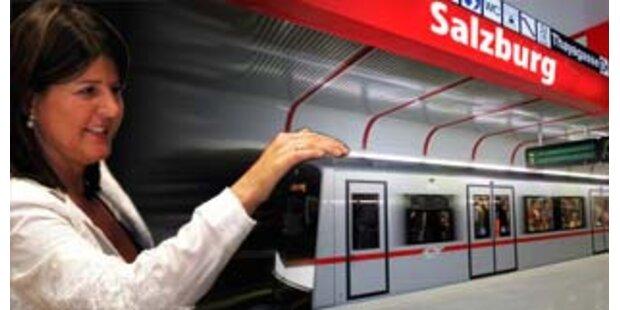 Burgstaller verhandelt über Salzburger U-Bahn