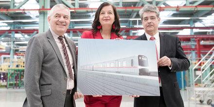 Das ist der neue Wiener U-Bahn-Zug