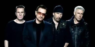 """U2 verschenken neuen Song """"Invisible"""""""