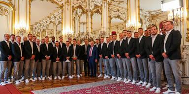 VdB verabschiedet unsere Euro-Helden