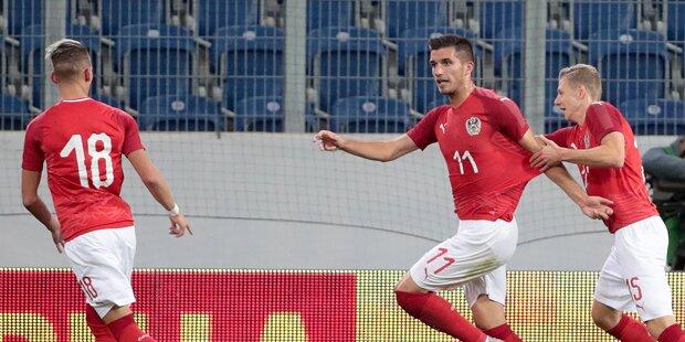 Österreich startet gegen Serbien
