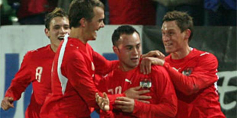 ÖFB-Jungstars gewinnen auf Zypern