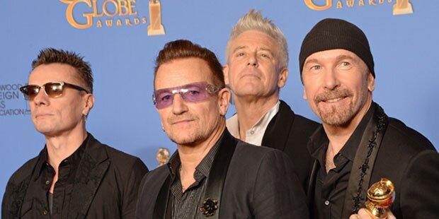 U2 kündigen Hallen-Tournee an