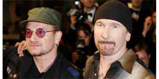 Überraschungsauftritt von U2 in London