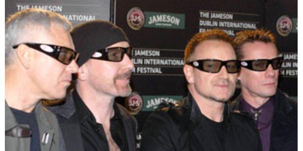 Bono Vox zum Greifen nah