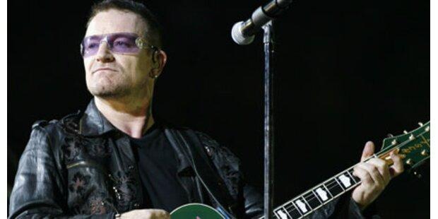 U2: Ersatz-Konzert für Wien