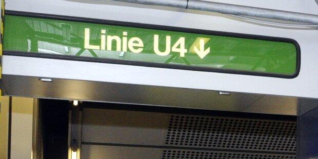 Gleis gestürmt: U4 steht still