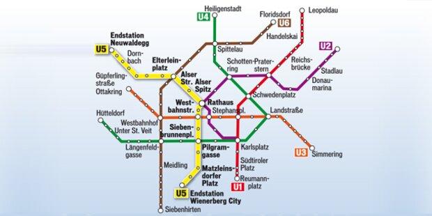 Wien: Neue Pläne für Linie U5