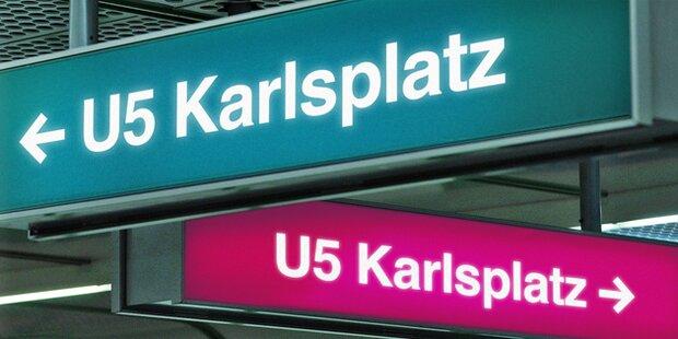 Neue Wiener U5 wird Türkis