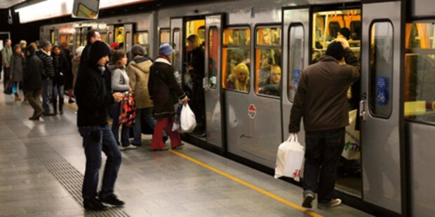 U4-Blackout: Passagiere saßen fest