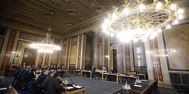 U-Ausschuss im Parlament