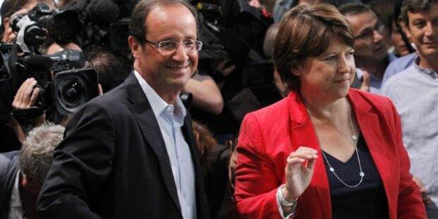 Sozialisten in Vorwahl-Finale versöhnlich
