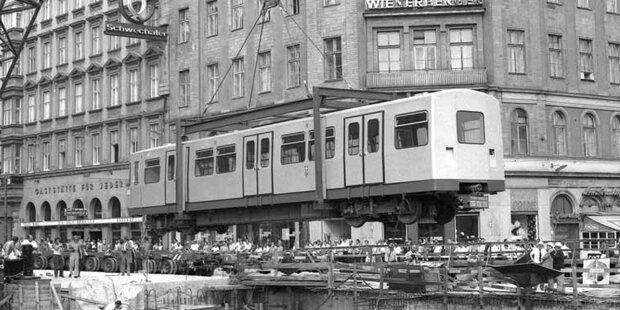 45 Jahre U-Bahn-Bau in Wien