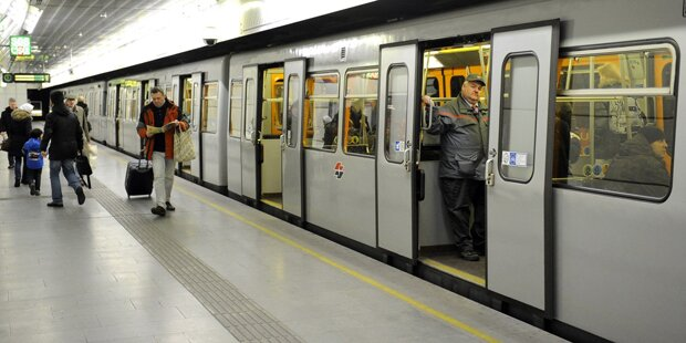 Wiener U-Bahn: Kommen jetzt Zugangskontrollen?