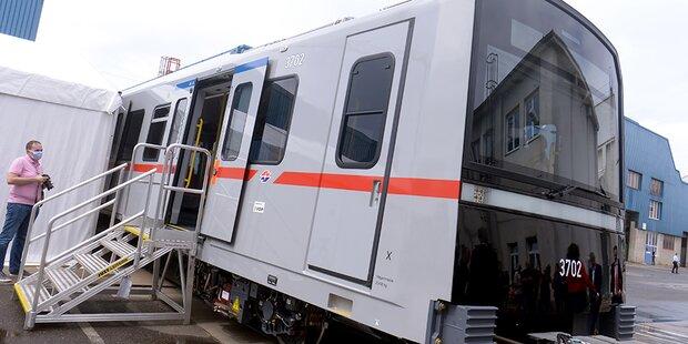 Neuer Wiener U-Bahn-Typ präsentiert: Der erste