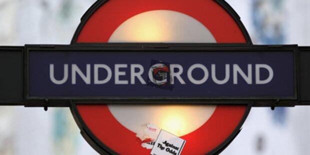 U-Bahn-Streik legte London lahm