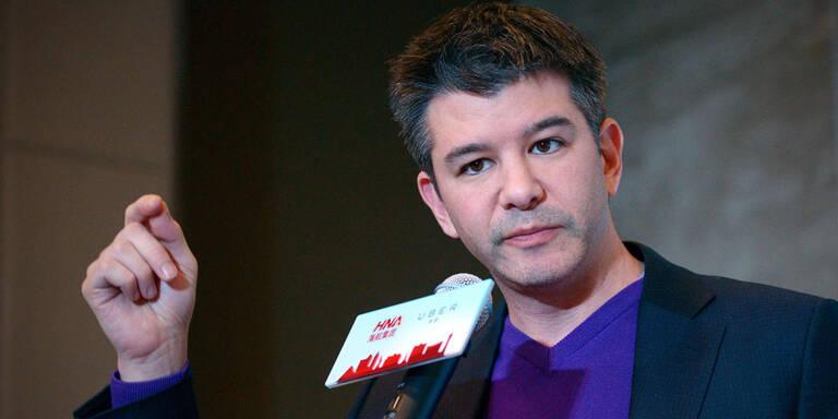Uber-Chef Kalanick nimmt Auszeit