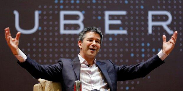 Uber ebnet Weg für Milliarden-Spritze