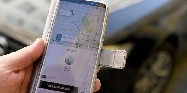 Uber stellt seine Dienste in Wien ein