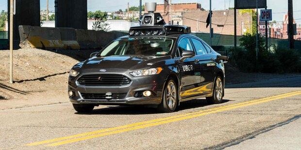 Ubers Robo-Autos wieder im Einsatz