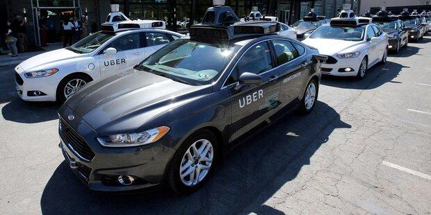 Massive Probleme bei Ubers Roboautos
