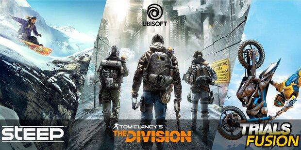 Top-Games von Ubisoft gratis zocken