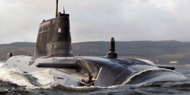 Peinlich: Atom-U-Boot läuft auf Grund