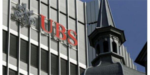 UBS schreibt rote Zahlen